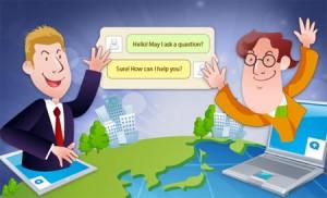 Chat trực tuyến giúp giao tiếp với khách hàng dễ dàng